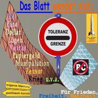 SilberRakete_Blatt-wendet-sich-Toleranzgrenz-politisch-korrekt-eigene-Meinung