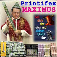 SilberRakete_Draghi-Printifex-Maximus-EURO-Stab-Geldbuendel-Teufel-Tod