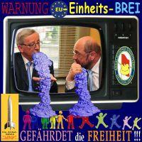 SilberRakete_EU-Einheitsbrei-Juncker-Schulz-Duell-Fernsehen-gegen-Freiheit