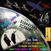 SilberRakete_Erde-2Maenner-WE-TB-Fernrohr-sucht-Schwarzer-Schwan-sieht-Drachen-andere-Ungeheuer-bedrohen-ALLE2
