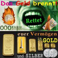 SilberRakete_Euro-Geld-brennt-Rettet-Vermoegen-in-GOLD-und-SiILBER-Barren-Philharmoniker