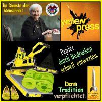 SilberRakete_FED-Janett-Yellen-Yellenpress-Papier-Dollar-entwerten-Schuhe2