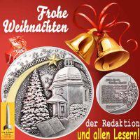 SilberRakete_Frohe-Weihnachten-der-Redaktion-und-den-Lesern-Silberne-Medaille-Stille-Nacht-Goldene-Glocken