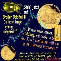 SilberRakete_GOLD-Kurs-5Jahre-GoldBug-GoldBull-aufstehen-ausgeruht-Queen