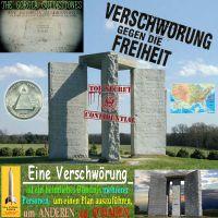 SilberRakete_Gorgia-GuideStones-Gegen-Freiheit-Verschwoerung-Buendnis-Plan-anderen-Schaden-TopSecret