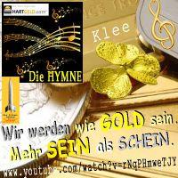 SilberRakete_HARTGELD-Hymne-KLEE-GOLD-Mehr-SEIN-als-SCHEIN-Kleeblatt-SILBER