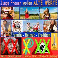 SilberRakete_Junge-Frauen-wollen-alte-Werte-Familie-Heimat-Tradition-Kein-Feminismus-Gleichberechtigung-Schwarzer2