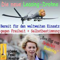 SilberRakete_Leasing-Drohne-CRoth-Leyen-gegen-Freiheit-Selbstbestimmung-weltweit-bewilligt-Bundestag2