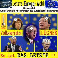 SilberRakete_Letzte-EU-Wahl-2014-Barroso-Rompuy-Schulz-Juncker-Ashton-Luege-Volksverrat