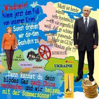 SilberRakete_Merkel-Fuss-von-Krim-Gashahn-zudrehen-Putin-Mutti-hysterisch-Mode-GUM-Moskau