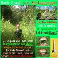 SilberRakete_Nach-Crash-Entlassungen-Hunger-Gruene-fressen-Gras-vegetarisch-vegan-kein-Naehrwert
