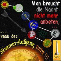 SilberRakete_Papiergeld-Waehrungen-Oeko-Nacht-nicht-anbeten-GrosserWagen-Sonnenaufgang-naht-GOLD2