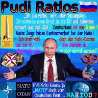 SilberRakete_Putin-Rudi-Ratlos-Brief-EU-Antwort-USA-D-von-Sinnen-Gashahn-abdrehen-NATO-Nahtod