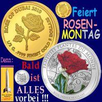 SilberRakete_Rosenmontag-2014-Muenzen-GOLD-SILBER-Rosen-Feiert-Bald-alles-vorbei