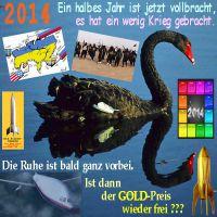 SilberRakete_Schwarzer-Schwan-1Halbjahr2014-Kriege-bald-Ruhe-vorbei-Goldpreis-frei