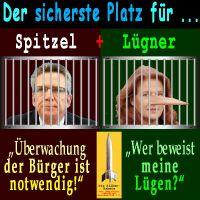 SilberRakete_Sicherster-Platz-Spitzel-Luegner-Gefaengnis-deMaiziere-JDitfurth-Ueberwachung-Compact