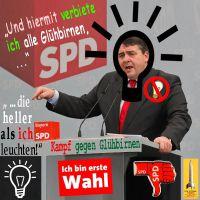 SilberRakete_Siegmar-Gabriel-SPD-Verbot-Gluehbirne-Bild1-Verbot-aller-helleren-Leuchten