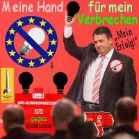SilberRakete_Siegmar-Gabriel-SPD-Verbot-Gluehbirne-Bild2-Meine-Hand-fuer-mein-Verbrechen-Erfolg-EU