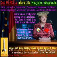 SilberRakete_Silvester-2014-Merkels-letzte-Neujahrs-Ansprache-Deutsche-Auswandern-Crash-Deutschland-Mittelalter