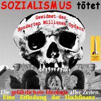 SilberRakete_Sozialismus-toetet-Denkmal-Kyffhaeuser-Kaiser-Totenschaedel-gefaehrlichste-Ideologie