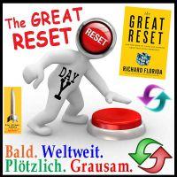 SilberRakete_The-Great-Reset-Buch-Figur-Roter-Knopf-Bald-Weltweit-Ploetzlich-Grausam