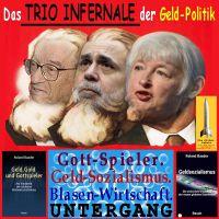 SilberRakete_Trio-Infernale-Geldpolitik-Greenspan-Bernanke-Yellen-Gottspieler-Geldsozialismus-Blasen