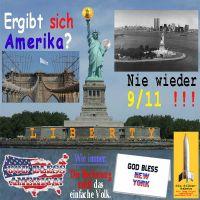 SilberRakete_USA-Amerika-ergibt-sich-weisse-Fahne-Nie-wieder-119-Freiheitsstatue-Liberty-God-bless