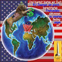 SilberRakete_USA-Loewe-Dollar-Freihandelsabkommen-EU-Zwerge-Welt