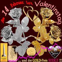 SilberRakete_Valentinstag-14Februar-2014-Rosen-GOLD-SILBER-Herzen-Goldpreis-steigt2