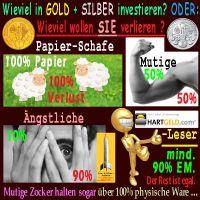 SilberRakete_Vermoegen-Anteil-verlieren-GOLD-SILBER-investieren-Papier-Schaf-Angst-Mut-HGLeser