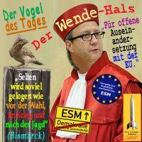 SilberRakete_Vosskuhle-Bundesverfassungsgericht-Vogel-des-Tages-Wendehals-ESM-EU-Bismarck-Zitat