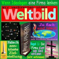 SilberRakete_WELTBILD-Pleite-Ideologen-Kirche-Flache-Erde-Weihnachtsmann-Geld-verdienen-Kreuz2