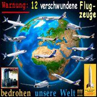 SilberRakete_Warnung-12-verschwundene-Flugzeuge-bedrohen-unsere-Welt-11Sept2001-Erde