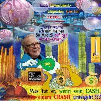 SilberRakete_Warren-Buffett-Donald-Duck-Geld-Sack-50Mrd-Dollar-wartet-Aktien-Crash-Cash-untergeht2