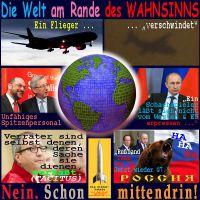 SilberRakete_Welt-Wahnsinn-Flugzeug-Juncker-Schulz-Putin-Vosskuhle-Fabius-Russland