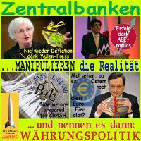 SilberRakete_Zentralbanken-manipulieren-Realitaet-Waehrungspolitik-FED-Yellen-YEN-Abenomics-BoE-Shredder-EZB-Euro-Ei