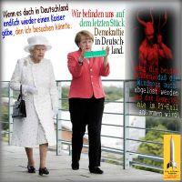 SilberRakete_BerlinJuni2015-Queen-ElisabethII-Kaiser-Merkel-Demokrattie-Teufel-Windsors-KeinPYExil
