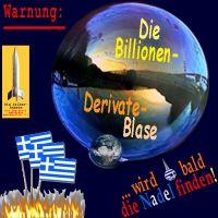 SilberRakete_Billionen-Derivate-Blase-an-Erde-Bald-Nadel-finden-Griechenland-Fahne