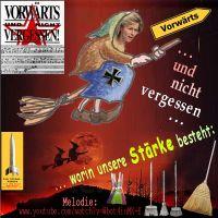SilberRakete_Bundeswehr-im-Einsatz-vonderLeyen-Hexe-Vorwaerts-und-nicht-vergessen-Staerke-Besen