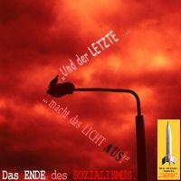 SilberRakete_Das-Ende-des-Sozialismus-Der-Letzte-macht-das-Licht-aus-Feuer-Vogel-auf-Laterne