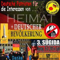 SilberRakete_Deutsche-Patrioten-fuer-Heimat-und-Deutsche-Bevoelkerung-SUEGIDA-Suhl20150126-Merkel-weg-Danke