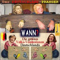 SilberRakete_Deutschland-Pranger-vdLeyen-CRoth-Merkel-Nahles-WANN-Fahne
