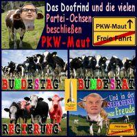 SilberRakete_Doofrind-Parteiochsen-beschliessen-PKW-Maut-Bundestag-Bundesrat-Dobrindt-Seehoferei