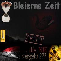 SilberRakete_Dunkle-Wolken-Bleierne-Zeit-Sanduhr-steht-Uhren-5vor12-Schwarzer-Schwan-Zeit-die-nie-vergeht