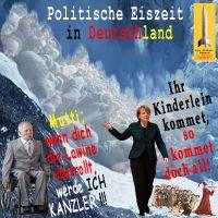 SilberRakete_Eiszeit-D-Merkel-Kinderlein-kommet-Rattenfaenger-Fluechtlinge-Schaeuble-Lawine-Kanzler