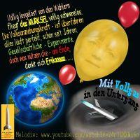SilberRakete_Erde-Luftballon-Merkel-Voellig-losgeloest-von-den-Waehlern-Bis-zum-Untergang-Rakete