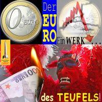 SilberRakete_Euro-Ein-Werk-des-Teufels-0Euro-Kurs-faellt-RoterTeufel-Draghi-Schein-brennt