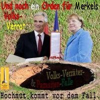 SilberRakete_Faymann-Orden-fuer-Merkels-Volksverrat-Parasiten-Falle-Loch-Hochmut-vor-Fall
