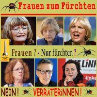 SilberRakete_Frauen-zum-Fuerchten-ASchwarzer-AMerkel-CRoth-AKahane-LHornscheidt-KKoenig