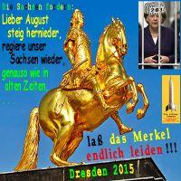 SilberRakete_GOLDENER-Reiter-Dresden-Sachsen-fordern-Koenig-Leiden-Merkel-Gitter